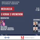 Otvoreni webinar – Medijacija u korak sa vremenom